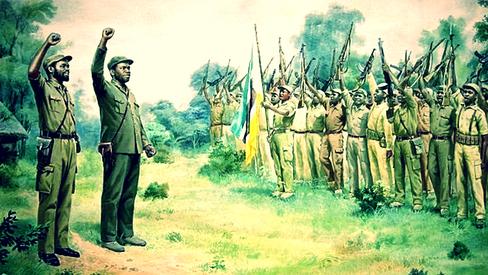"""""""Pela independência imediata e total de Moçambique"""""""