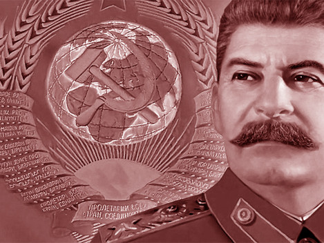 """O Camarada Stalin, Chefe da Humanidade Progressista"""