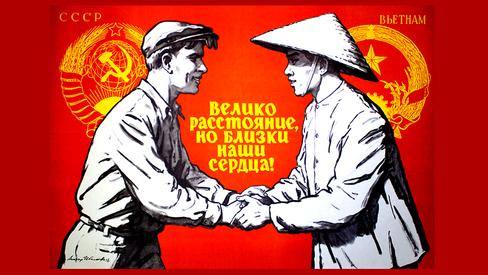 """Ho Chi Minh: """"A Grande Revolução de Outubro abriu a via para a libertação dos povos"""""""