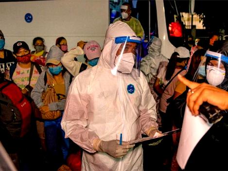 Comunistas filipinos promovem campanha de conscientização pela vacina da Covid-19