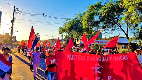 """""""Paraguai: por um programa para lutar"""""""