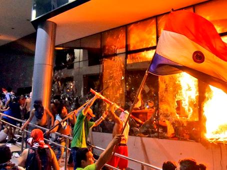 Massas trabalhadoras do Paraguai se levantam contra governo