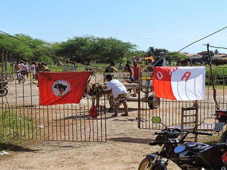 Trabalhadores reocupam terreno em Aracati no CE