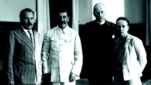 """Entrevista de Stalin com Romain Rolland"""
