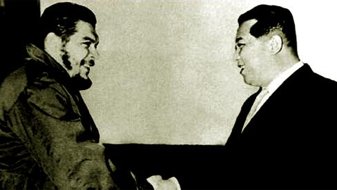 """""""Kim Il Sung e Ernesto Che Guevara"""""""