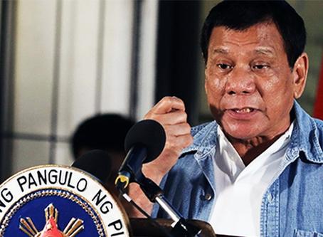 """""""Duterte torna-se ferramenta de agressão dos EUA para condenar a Coreia do Norte"""""""