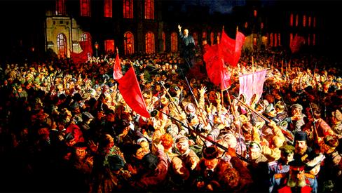 """""""Lenin: propagandista e agitador"""""""