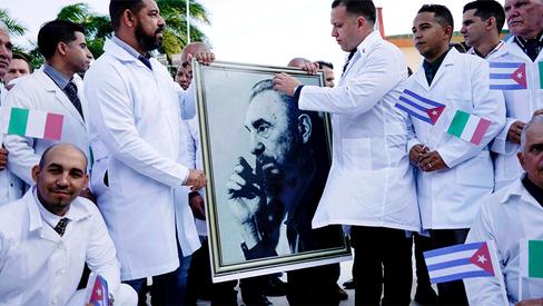 """""""Cuba, a humanidade e a Covid-19"""""""