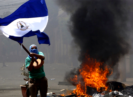 """""""Nicarágua é o alvo"""""""