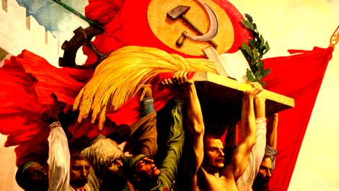 """""""URSS, baluarte da Paz e da Libertação dos Povos"""""""