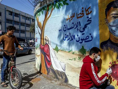 """""""O novo conflito de Gaza: Covid-19"""""""