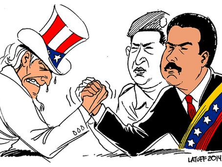 """""""Documento secreto dos EUA revela 'Golpe de Mestre' em curso contra Venezuela"""""""