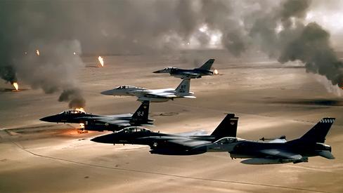 """""""Câncer como arma: a guerra radioativa de Bush Pai contra o Iraque"""""""