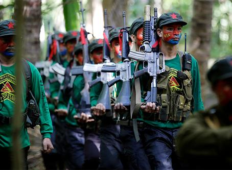 """""""Às vítimas da opressão e violência do regime de Duterte, estamos do seu lado!"""""""