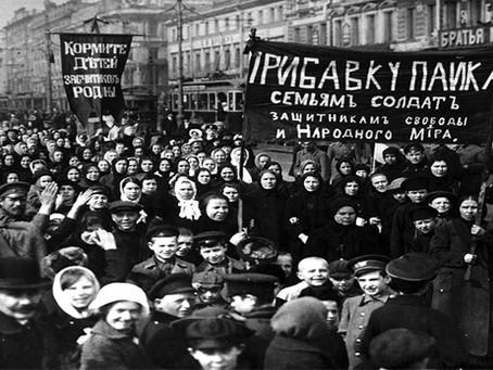 """""""Mulheres militantes nos dias da Grande Revolução de Outubro"""""""