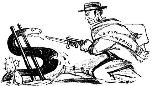 """""""O Aguçamento da Concorrência das Potências Imperialistas nos Países da América Latina"""""""