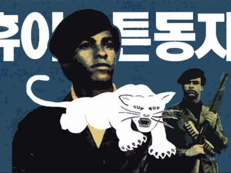"""""""Declaração sobre a viagem do Partido dos Panteras Negras à Coreia Popular"""""""
