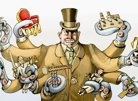 """O investimento do capitalismo burocrático beneficia o imperialismo"""