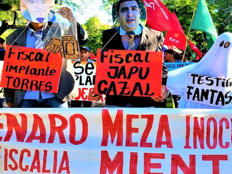 Liberdade para Genaro Meza! Abaixo a repressão contra o povo paraguaio!