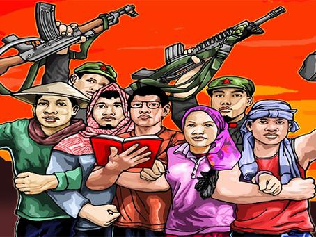 """""""Unificar o povo filipino para derrubar o governo fascista de Duterte"""""""