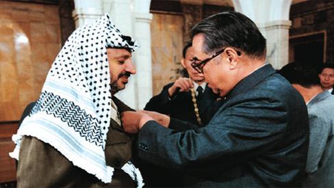 """""""Importância da solidariedade internacional: RPDC e Palestina"""""""