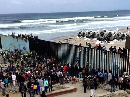 """""""EUA enviará mais soldados para fronteira com o México"""""""