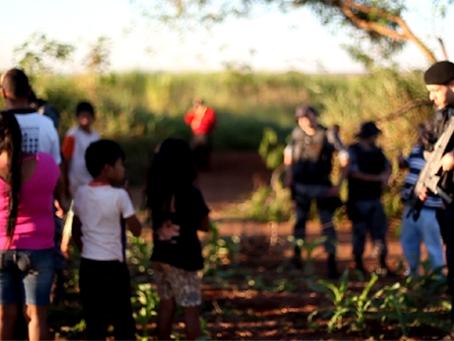 Polícia despeja mais três acampamentos Guarani-Kaiowa no MS
