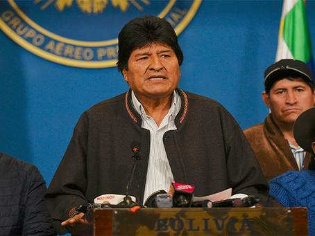 """URC: """"Sobre o Golpe de Estado imperialista na Bolívia"""""""