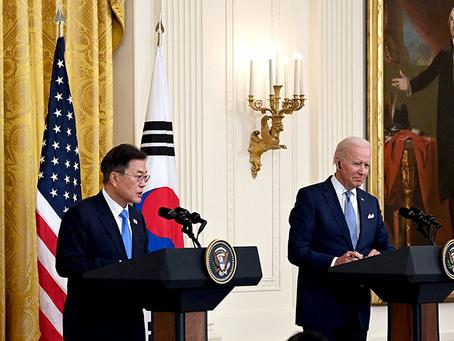 """""""Qual é a conclusão da cúpula EUA-Coreia do Sul?"""""""