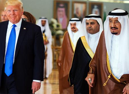 EUA e Arábia Saudita firmam mega-acordo de 350 bilhões de dólares