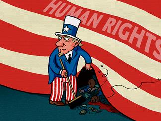 """""""A verdadeira face do 'defensor dos direitos humanos'"""""""