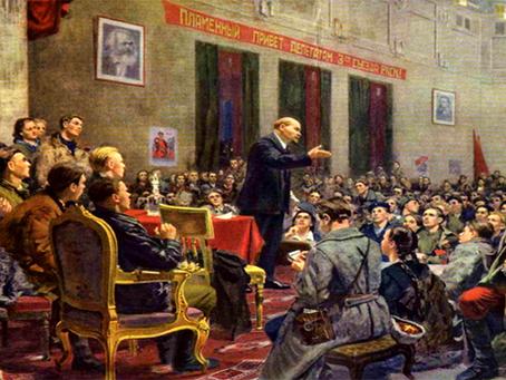 """""""O significado da Revolução Socialista de Outubro nos destinos históricos da URSS"""""""