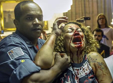 Prefeitura reprime servidores em luta pela previdência em SP