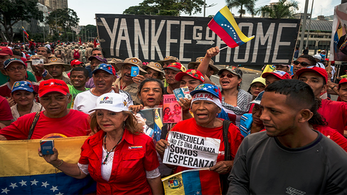 """""""Esfaimar a Venezuela para levá-la à submissão"""""""