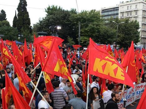 """KKE: """"Não à continuação da bancarrota do povo"""""""