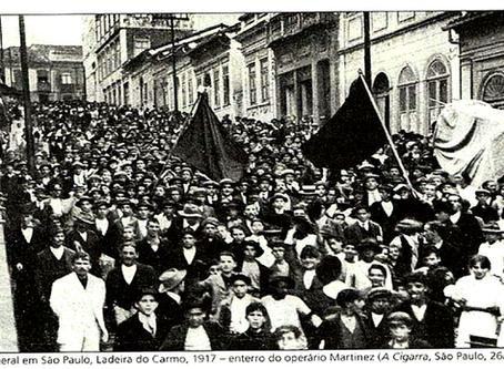 Um resumo histórico sobre as lutas da classe operária no Brasil (os primeiros tempos)
