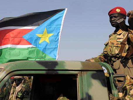 """""""Fruto dos esforços para o fim da guerra civil no Sudão do Sul"""""""
