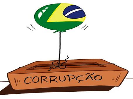 """""""No Brasil ninguém liga para corrupção: tudo é corrupção, nada é corrupção"""""""