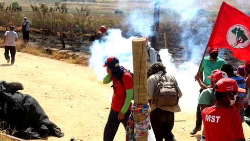 Novas crueldades cometidas durante o despejo do acampamento Quilombo Campo Grande em Minas Gerais
