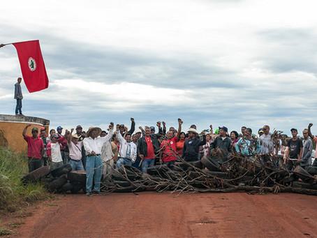 A história da ocupação da Fazenda Santa Mônica