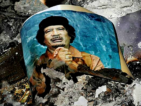 """Por que é que a OTAN, há dez anos, destruiu a Líbia"""