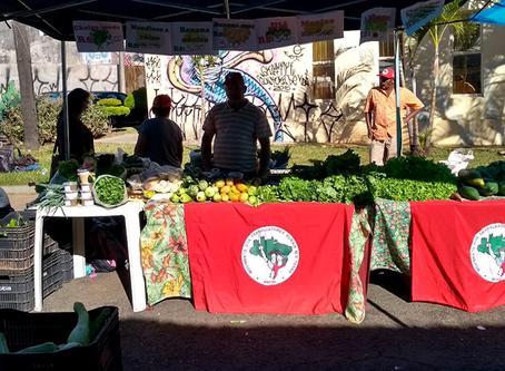 Feira da Reforma Agrária é realizada em Assis (SP)