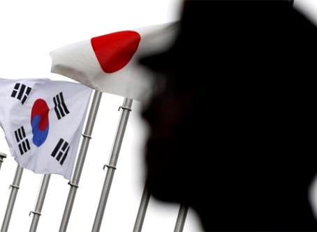 """""""A intervenção dos EUA no acordo militar entre Coreia do Sul e Japão"""""""