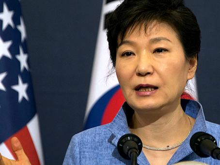 """""""Sobre a posição dual dos EUA sobre a política na Coreia do Sul"""""""