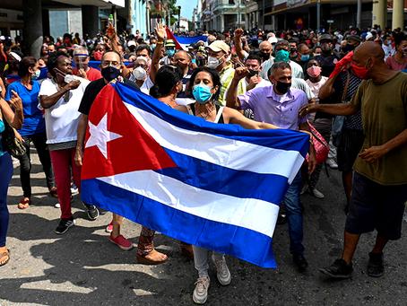 """""""A dimensão real dos incidentes em Cuba"""""""