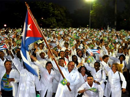 """""""Cooperação Médica Cubana: Pátria é Humanidade"""""""