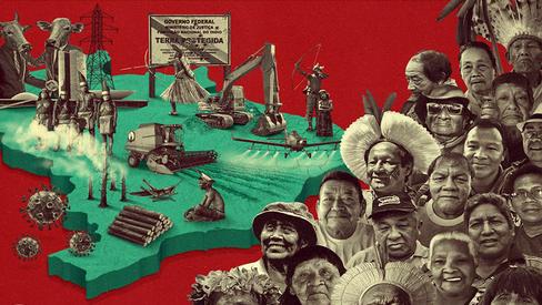 """""""União e luta dos povos indígenas contra os vírus que nos matam"""""""