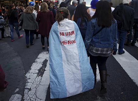 """""""A violência contra as mulheres golpeou duramente a Argentina em 2016"""""""