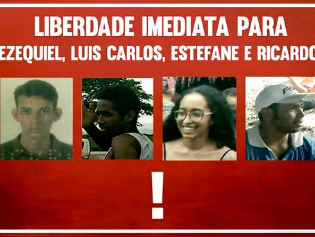 Camponeses da LCP são presos ilegalmente em Rondônia