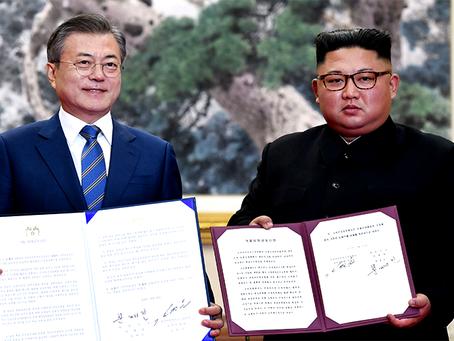 """""""Declaração Conjunta de Setembro de Pyongyang"""""""